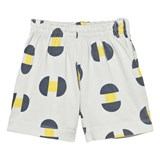 The Animals Observatory White Geometric Print Gardener Bermuda Shorts