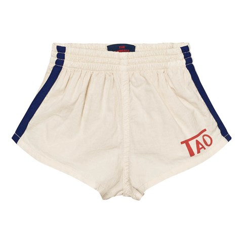 The Animals Observatory White Tao Logo Spider Shorts
