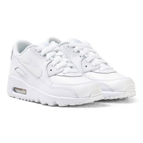 White Air Max 90 Leather Kids Trainers