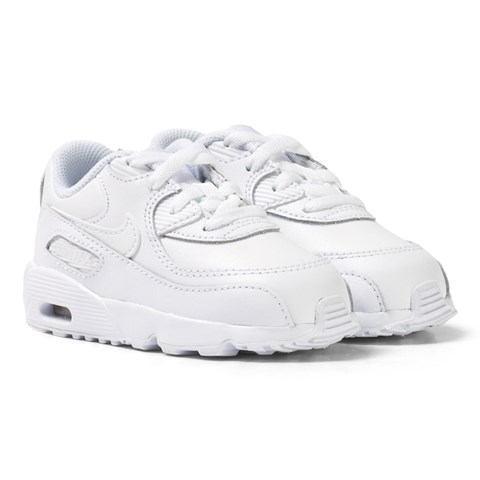 White Air Max 90 Leather Toddler Trainers