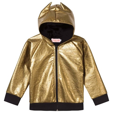 Bang Bang Copenhagen Metallic Gold Fever Hooded Jacket