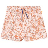 Tinycottons Pale Pink and Dark Peach Enamel Shorts