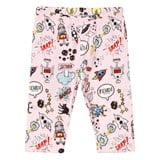 Fendi Pink Monster Print Leggings