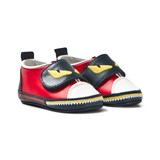 Fendi Red Monster Crib Shoes