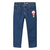 Little Marc Jacobs Blue Charm and Embroidered Jeans