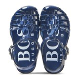 BOSS Navy Jelly Shoes