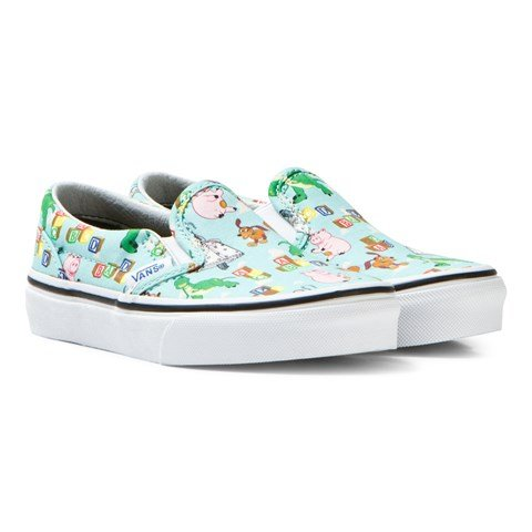 Blue Andy´s Toys Classic Slip Ons