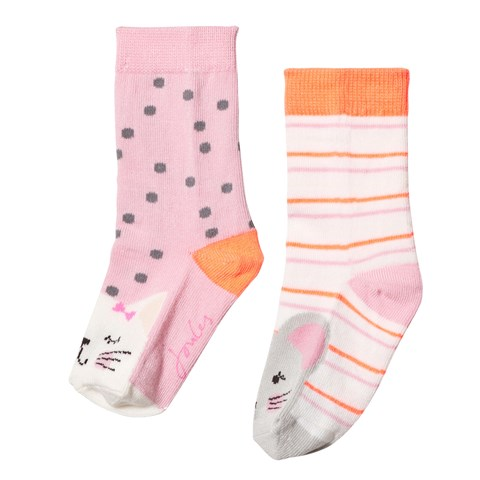 Pack of 2 Cat and Mouse Socks