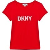 DKNY Red Logo Branded Tee