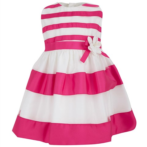 Torres Candy Stripe Prom Dress