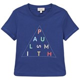 Paul Smith Junior Deep Blue Branded Mini Me Tee