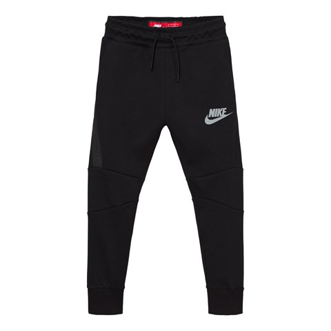 Nike Black Tech Fleece Track Pants
