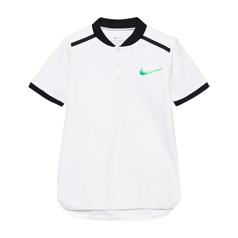 White Advance Tennis Polo Shirt