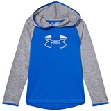 Under Armour Blue and Grey Tech Fleece Hoodie