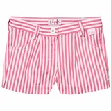 Il Gufo Pink Candy Stripe Shorts