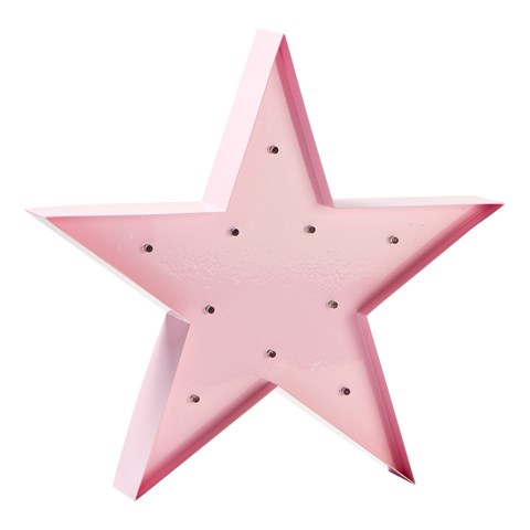 Sweetlights Baby Pink Star Small Bulbs Lamp