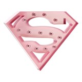 Sweetlights Baby Pink Supergirl Normal Clear Bulbs Lamp
