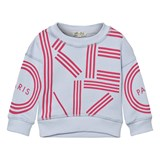 Kenzo Kids Blue and Pink Branded Sweatshirt