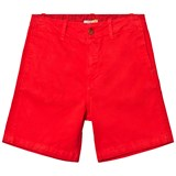 Paul Smith Junior Bright Red Shorts with Zebra Branding