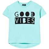 Diesel Mint Green Good Vibes Oversize Tee