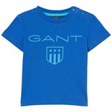 Gant Blue Shield Print Baby Tee