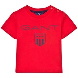 Gant Red Shield Print Baby Tee