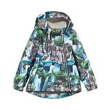 Molo Blue and Green Waterfall Hopla Jacket