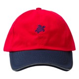 Vilebrequin Red Turtle Cap