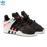 adidas Originals Black Kids EQT Support Trainers