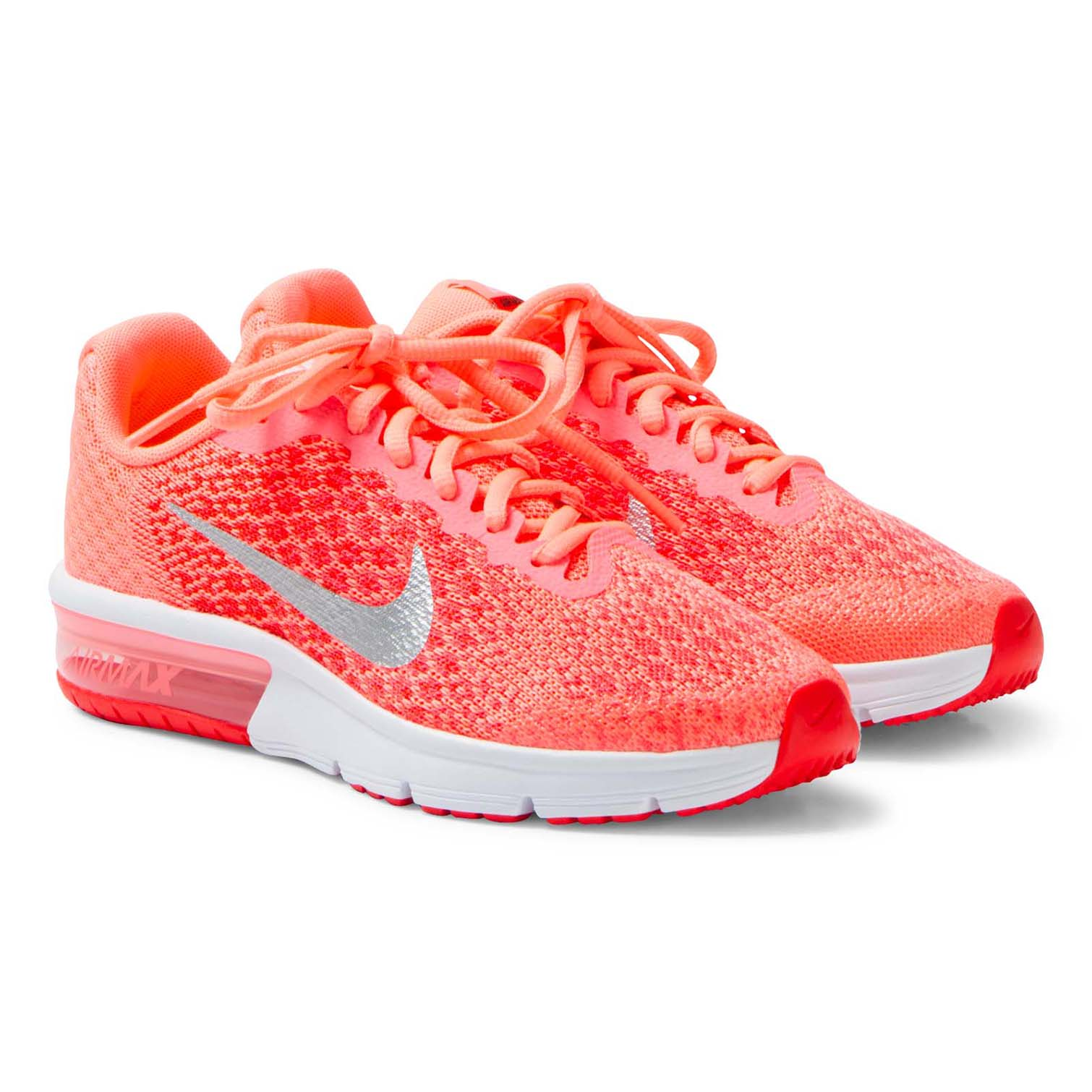 super popular 2b0e5 0da23 Nike Coral Air Max Sequent 2 Junior Trainers   AlexandAlexa
