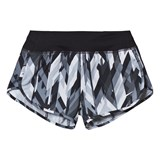 Nike Black Printed Rival Dry Shorts