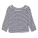 Tommy Hilfiger Navy Off The Shoulder Top