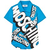 Moschino Blue Branded Shirt