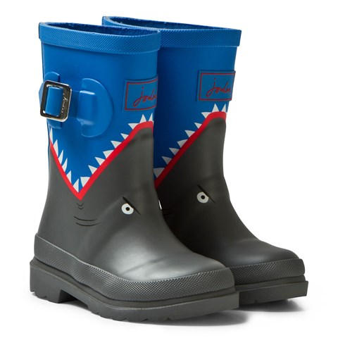Blue Shark Wellies
