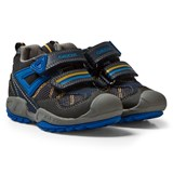 Geox Navy Velcro Savage Trainers