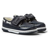 Geox Navy Infants Flick Boat Shoes