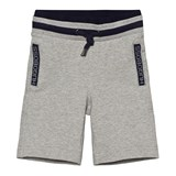 BOSS Grey Branded Sweatshorts