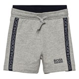 BOSS Grey Branded Shorts