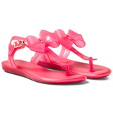 Mini Melissa Bright Pink Solar Bow Sandals