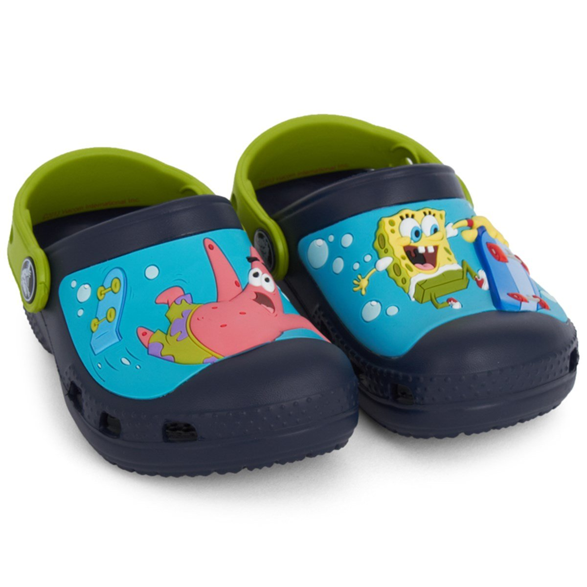 4c766a42120e Crocs Kids SpongeBob SquarePants Crocs