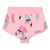 Gardner and The Gang Candy Pink Helmut Flamingo Shorts