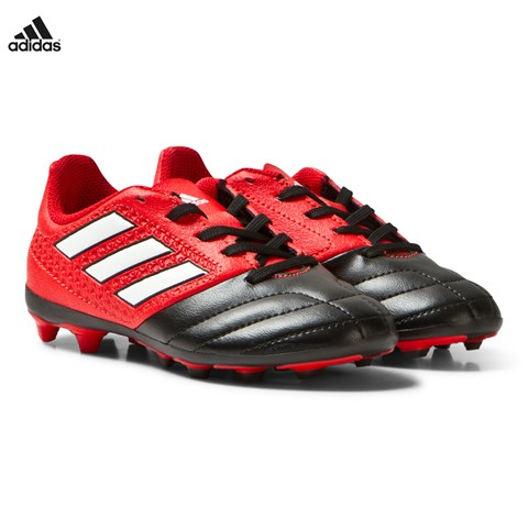 Red Ace Firm Ground Football Boots