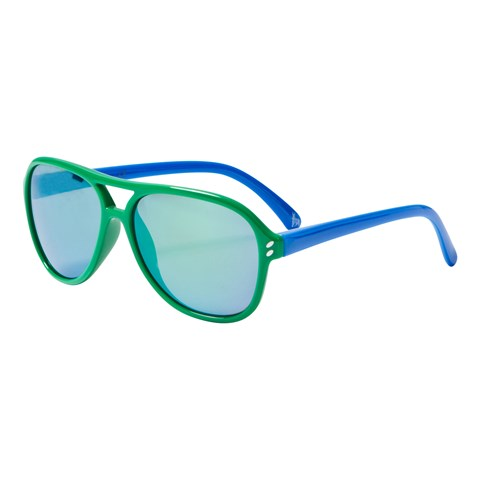 Stella McCartney Kids Green and Blue Aviator Sunglasses
