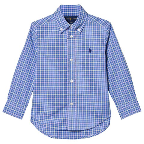 Blue and Navy Check Shirt
