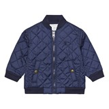 Ralph Lauren Navy Quilted Jacket