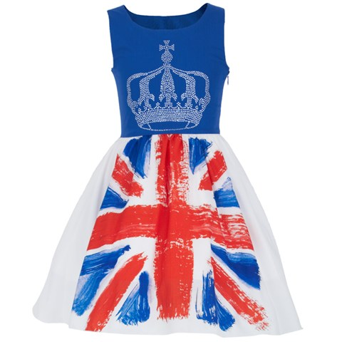 Love made Love Union Jack Tulle Dress