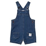 Catimini Indigo Denim Short Dungarees