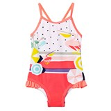 Catimini Pelican and Spot Print Swimsuit