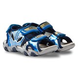 Geox Navy and Blue Light Up Strike Sandals