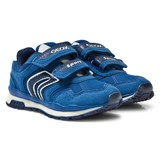 Geox Royal Blue Pavel Velcro Trainers